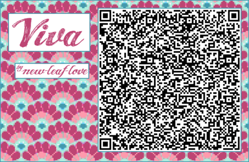 Acnl Achhd Qr Code Wall Fabric Tile Inspired By Pave Qr Codes