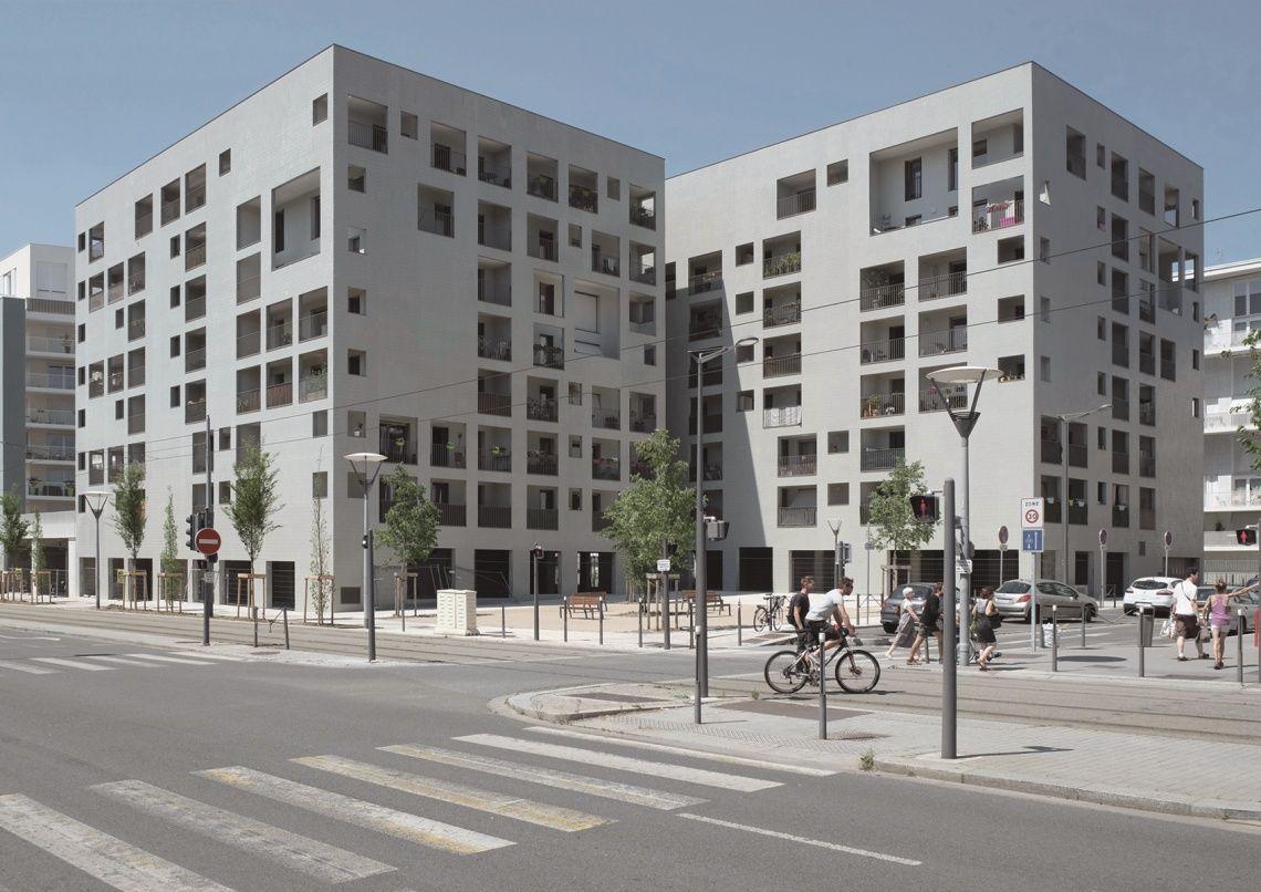 86 logements lyon france 2010 2014 Éric lapierre experience
