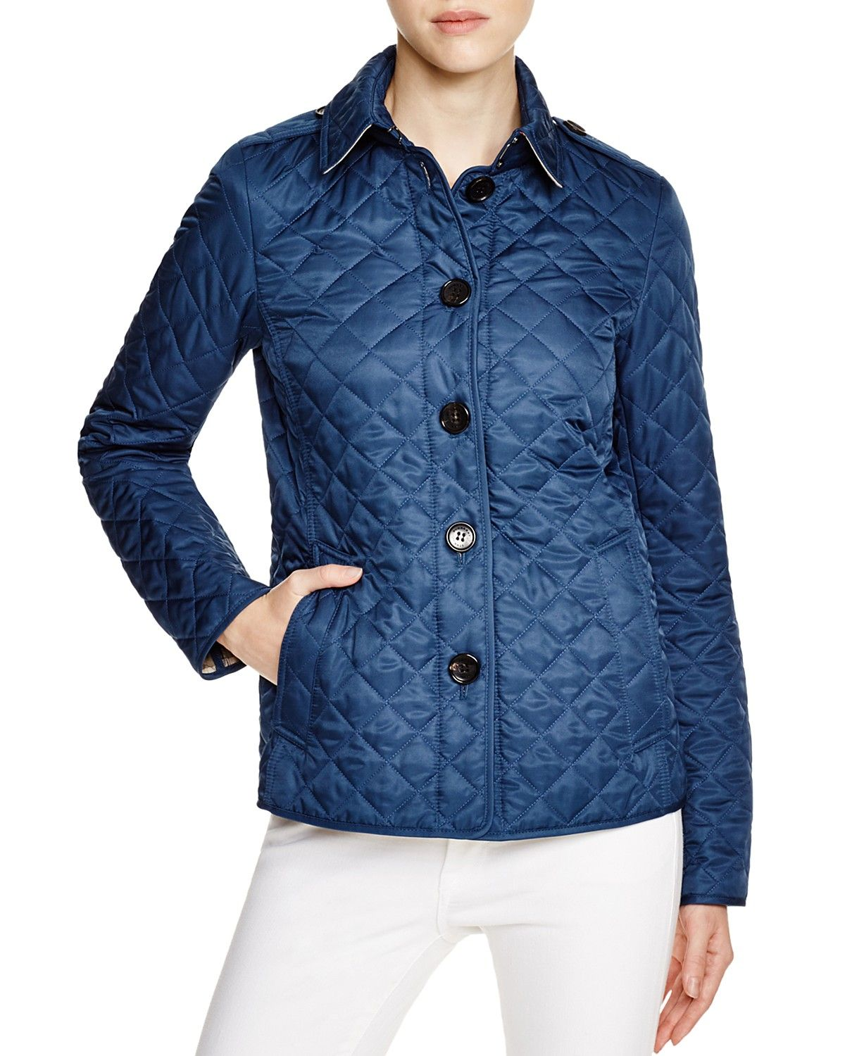 Burberry Brit Ashurst Quilted Jacket - Bloomingdale's Exclusive ... : quilted sweaters - Adamdwight.com
