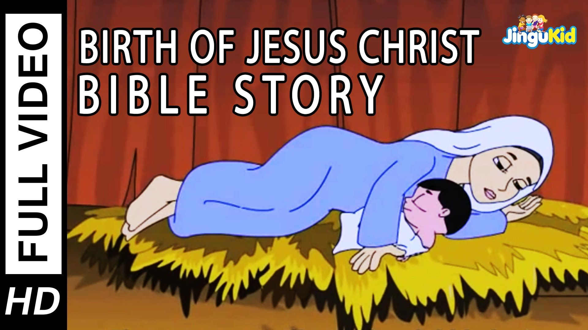 Birth of Jesus | HD Bible Stories for Kids | Christmas Stories for ...