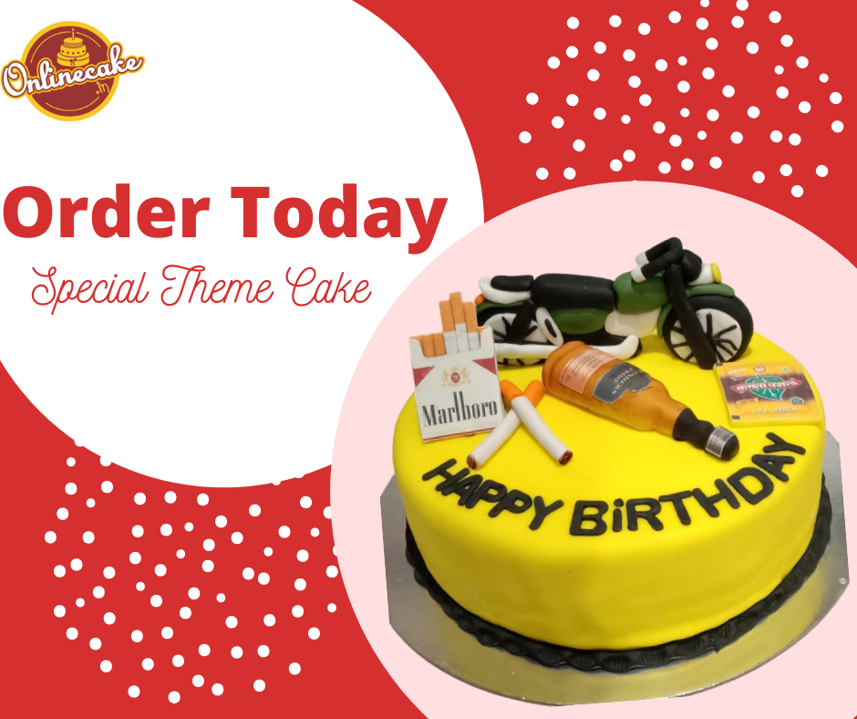 Get these beautifully customized #themecakes as per your choice😎. You Design. We Make Click the link below to order: