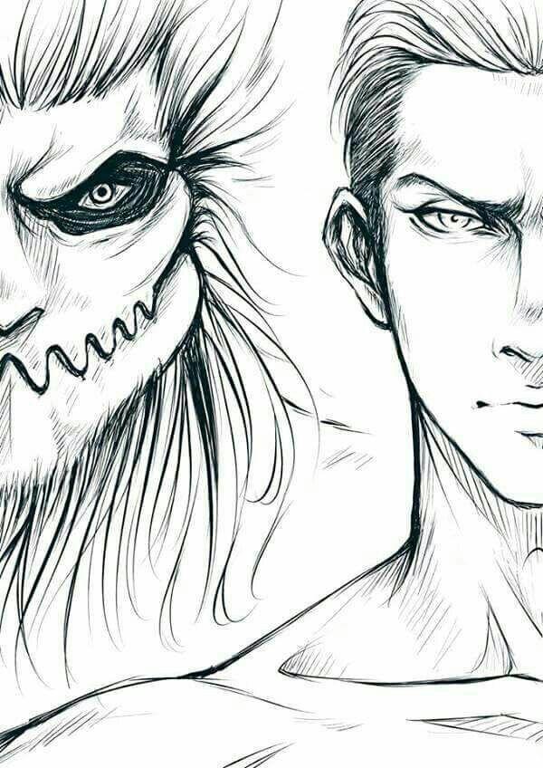 Porco Galliard Jaw Titan Attack On Titan Anime Attack On Titan Art Attack On Titan Season