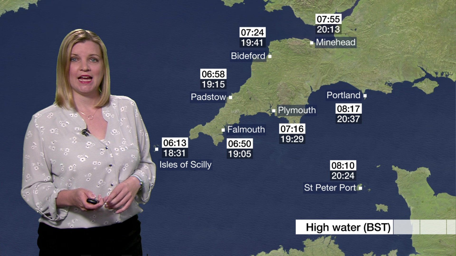 Emily Wood Weather Host Spotlight Points West South Today Bbc News Woman Personality Local News