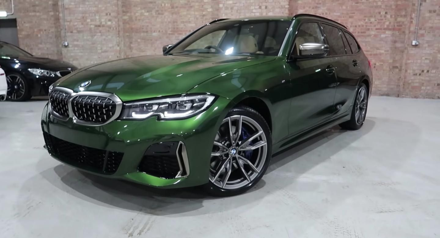 Bmw M340i Xdrive Touring Wears 6k Individual Verde Ermes Paint With Gusto Bmw Bmw3series Bmwindividual Bmwvideos Uk Vid In 2020 Bmw Porsche Panamera Turbo Bmw S