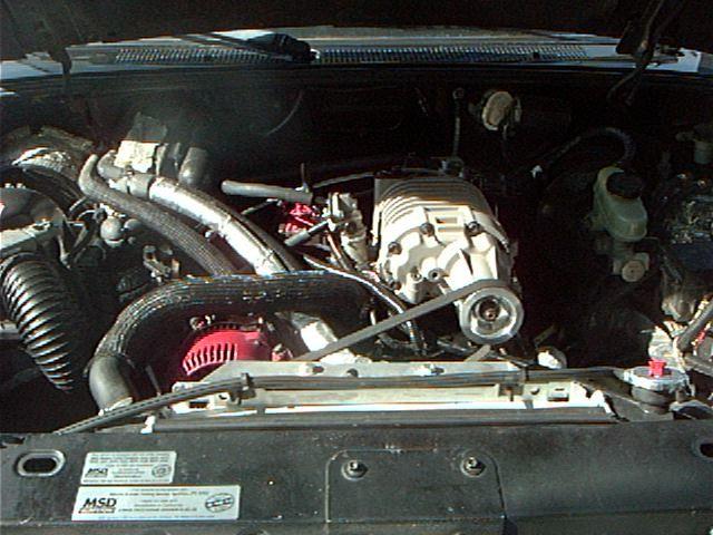 Generic Supercharger Install Supercharger Ford Ranger Ford V6
