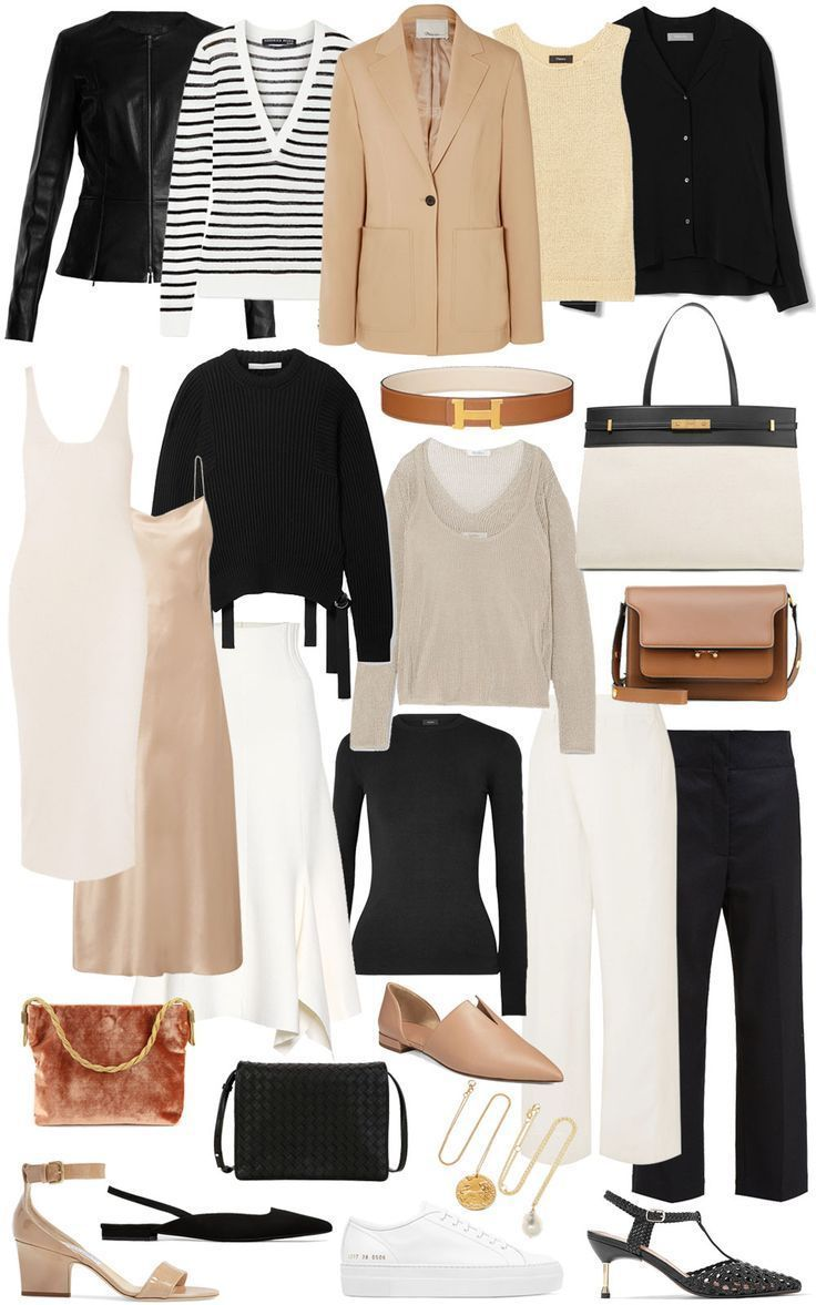 A SPRING CAPSULE WARDROBE — A Note on Style