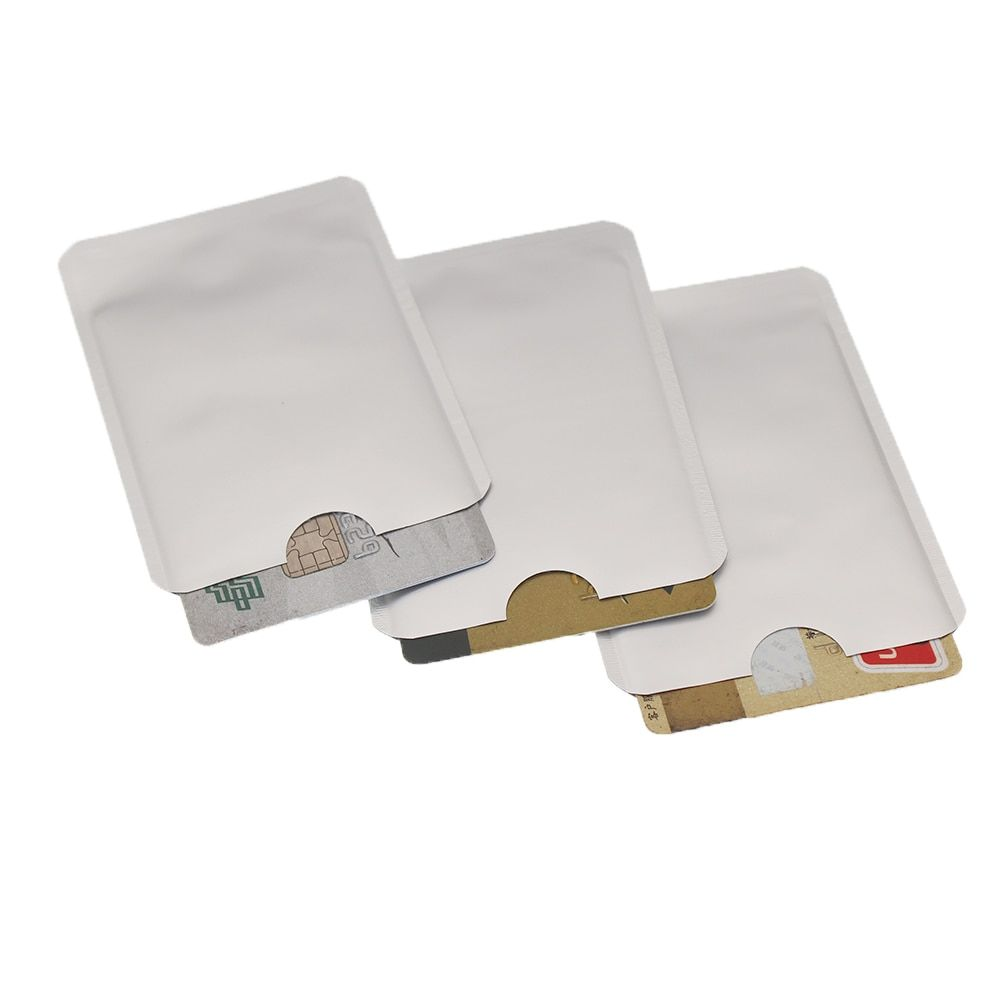 RFID Shielded Sleeve Card Blocking 13.56mhz IC card Protection NFC security