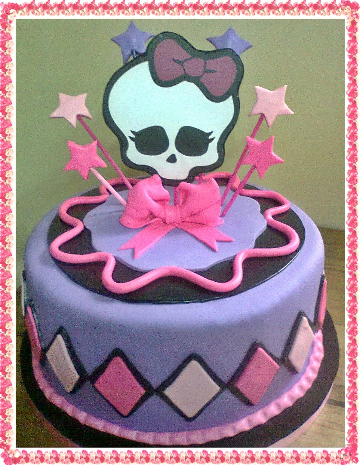torta de monster high | Tortas de Monster High | Pinterest ...