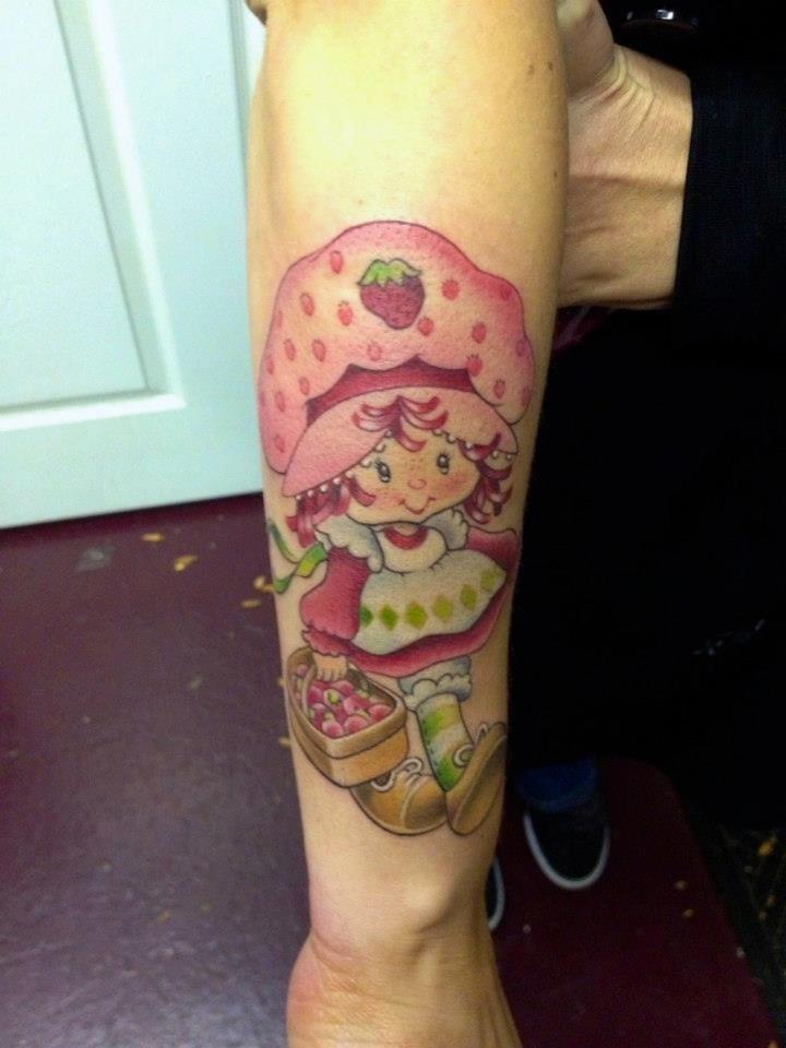 17e5e8b56 Strawberry Shortcake tattoo... I need her!!   1/3 life crisis ...
