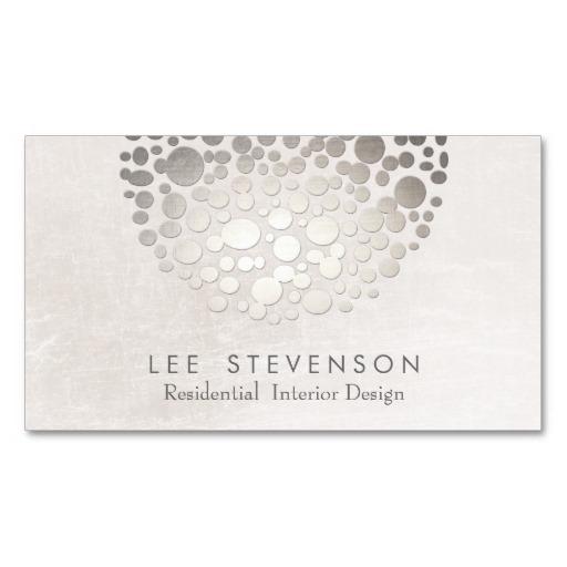 Explore Business Card Templates And More Modern Interior Designer Monochromatic