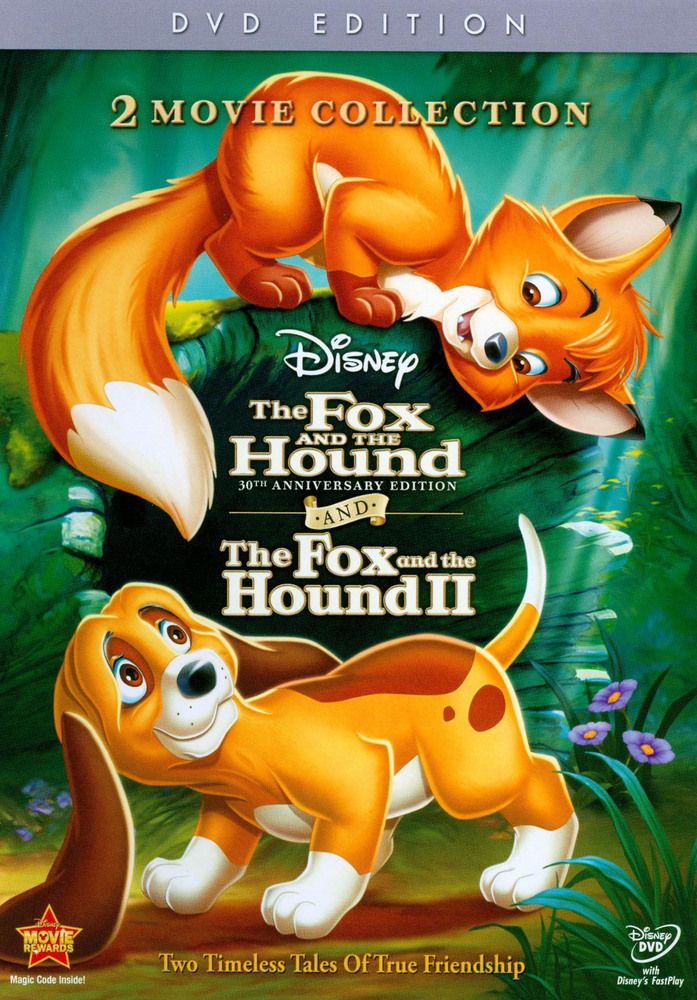 The Fox And The Hound The Fox And The Hound Ii 30th Anniversary Edition 2 Discs Dvd Best Buy The Fox And The Hound Movie Collection 2 Movie