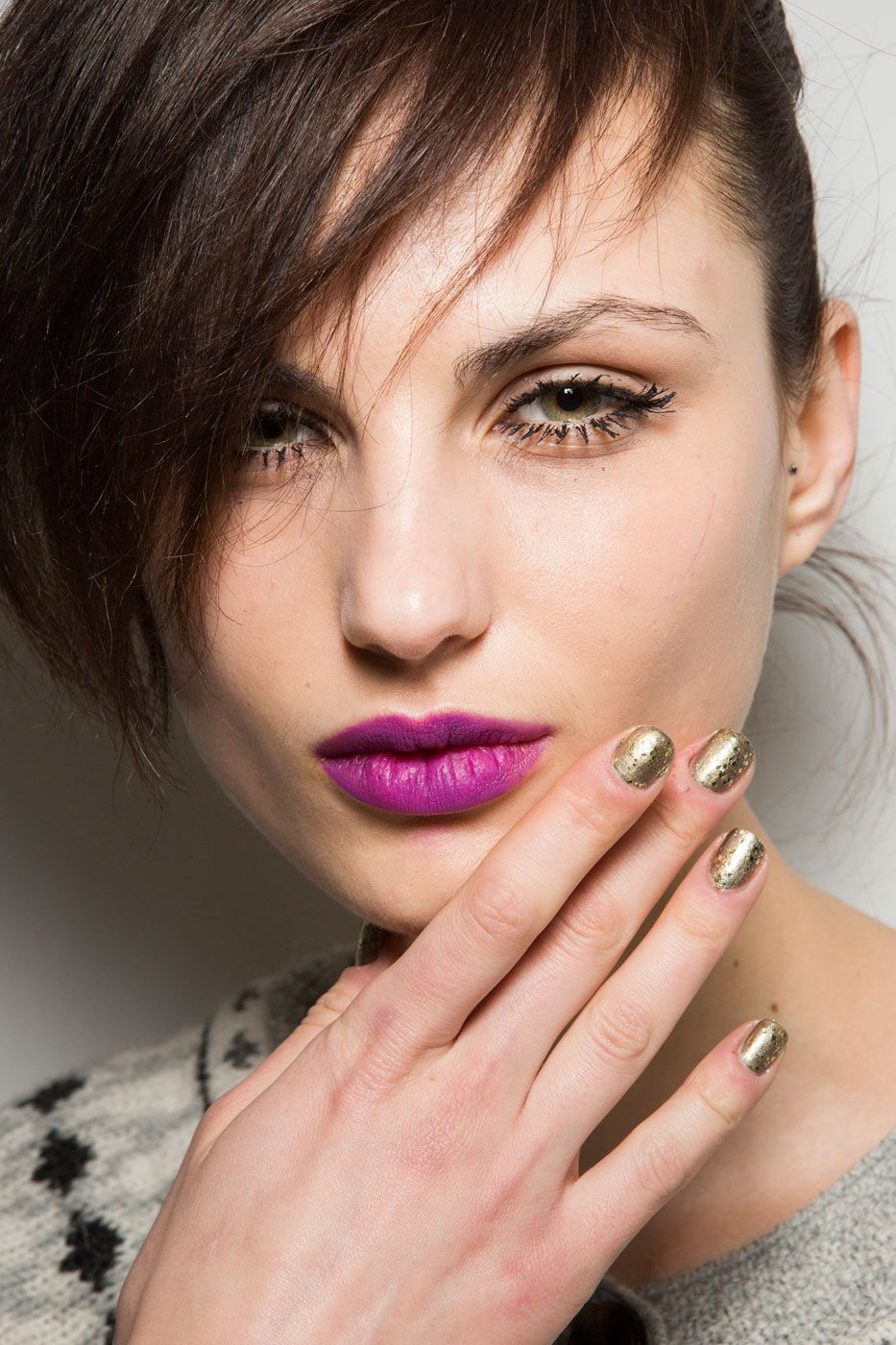 Nanette Lepore Fall 2015 | Nanette lepore, Fall manicure and Make up