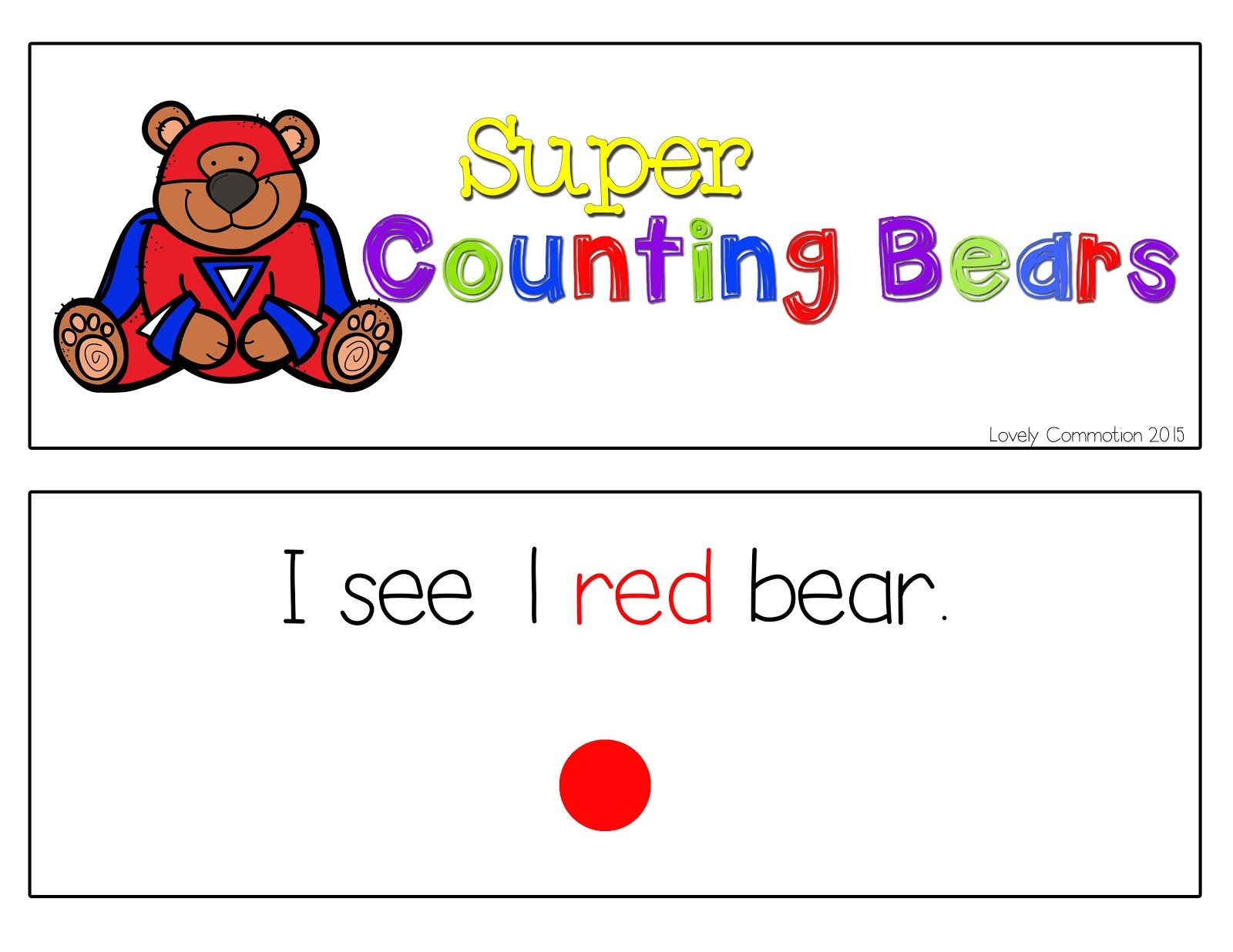 Displaying Color Counting 1