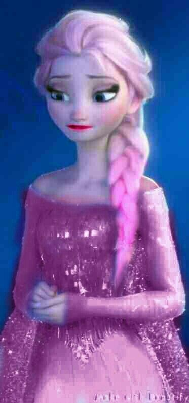 Pink Elsa Made By Birdieboo With Images Disney Adoption