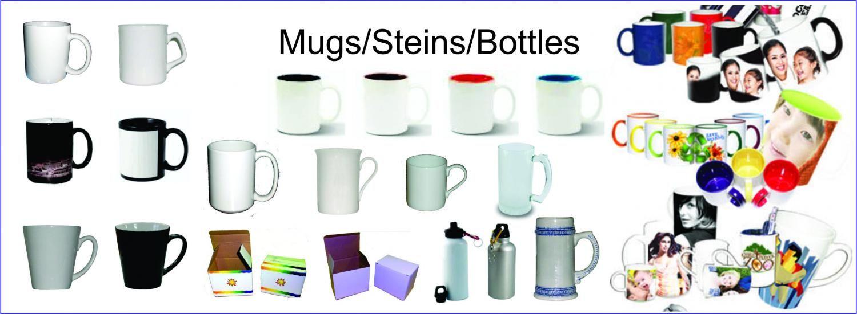 Huge range of sublimation mugs with sublimation printing