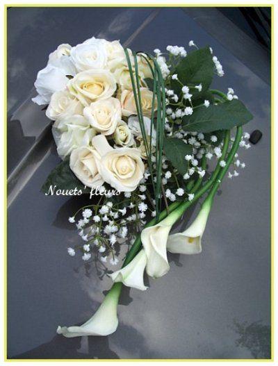 Decoration voiture de mari s recherche google bouquets pinterest decoration voiture - Decoration voiture mariage ventouse ...