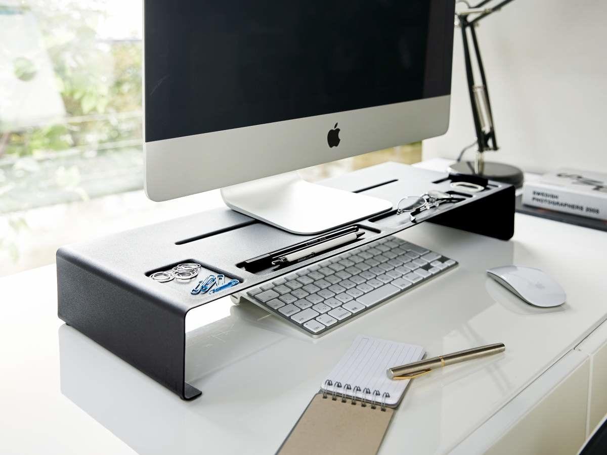 Monitor Imac Bildschirm Stand Erhöhung Yamazaki Schreibtisch