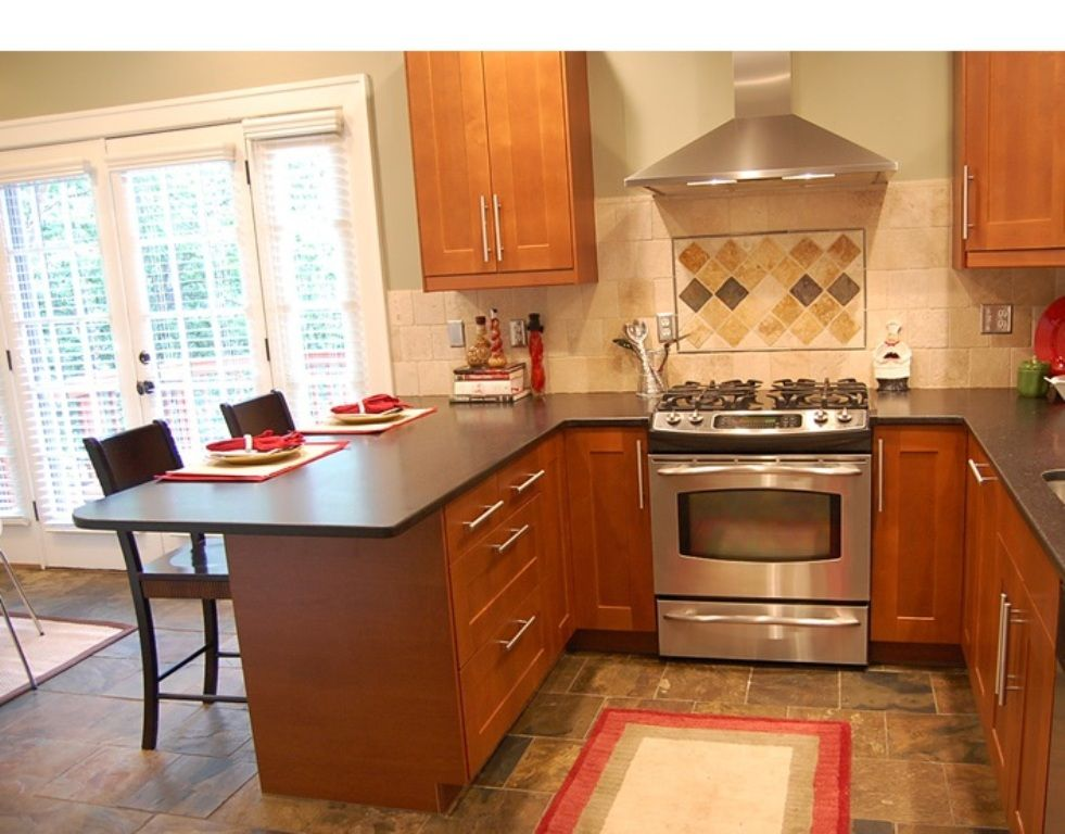 Kitchen Plans With Peninsulas picture of small kitchen with peninsula   home kitchen cabinet