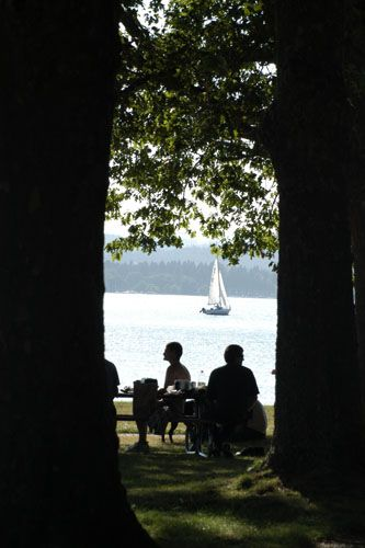 Eugene Wedding Venues Presents The Orchard Point Recreational Area On Fern Ridge Lake