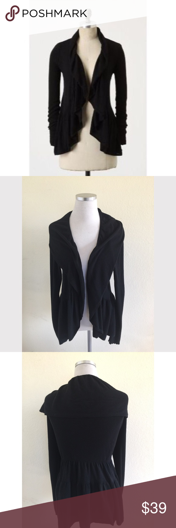 Hiking Cardigan Guinevere M Ruffles Anthropologie HAOwTR
