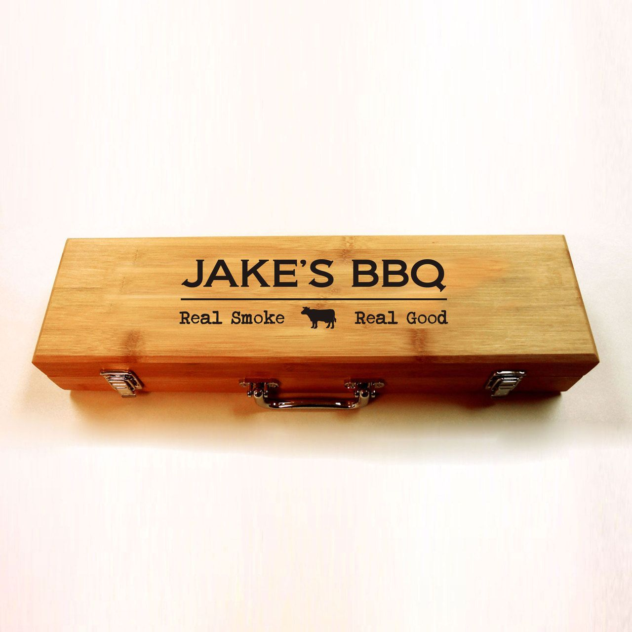 Personalized BBQ gift set, personalized barbeque gift set ...