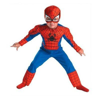 Disguise Toddler Spider Man Muscle Costume