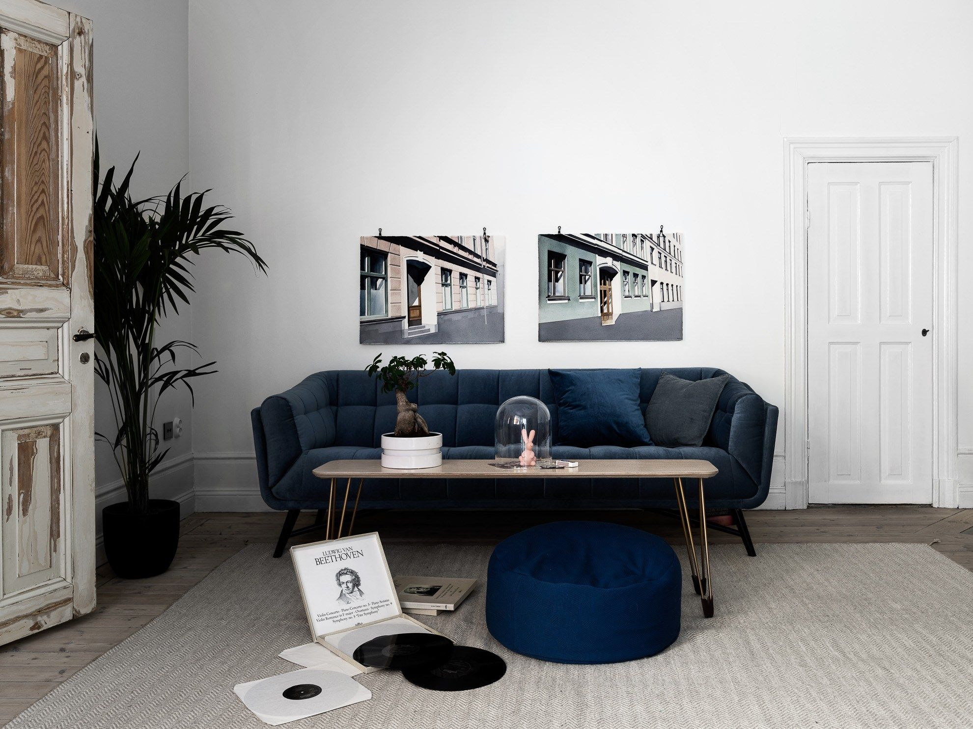Simple Living Room Furniture Designs Awesome Small Home With Character  Via Coco Lapine Design Blog  Interior Review