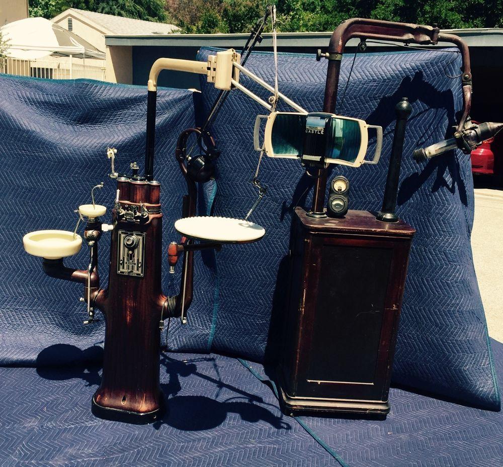 1920's Antique Ritter Dental X-Ray Unit & Ritter Unit Equipment Complete  Rare - 1920's Antique Ritter Dental X-Ray Unit & Ritter Unit Equipment