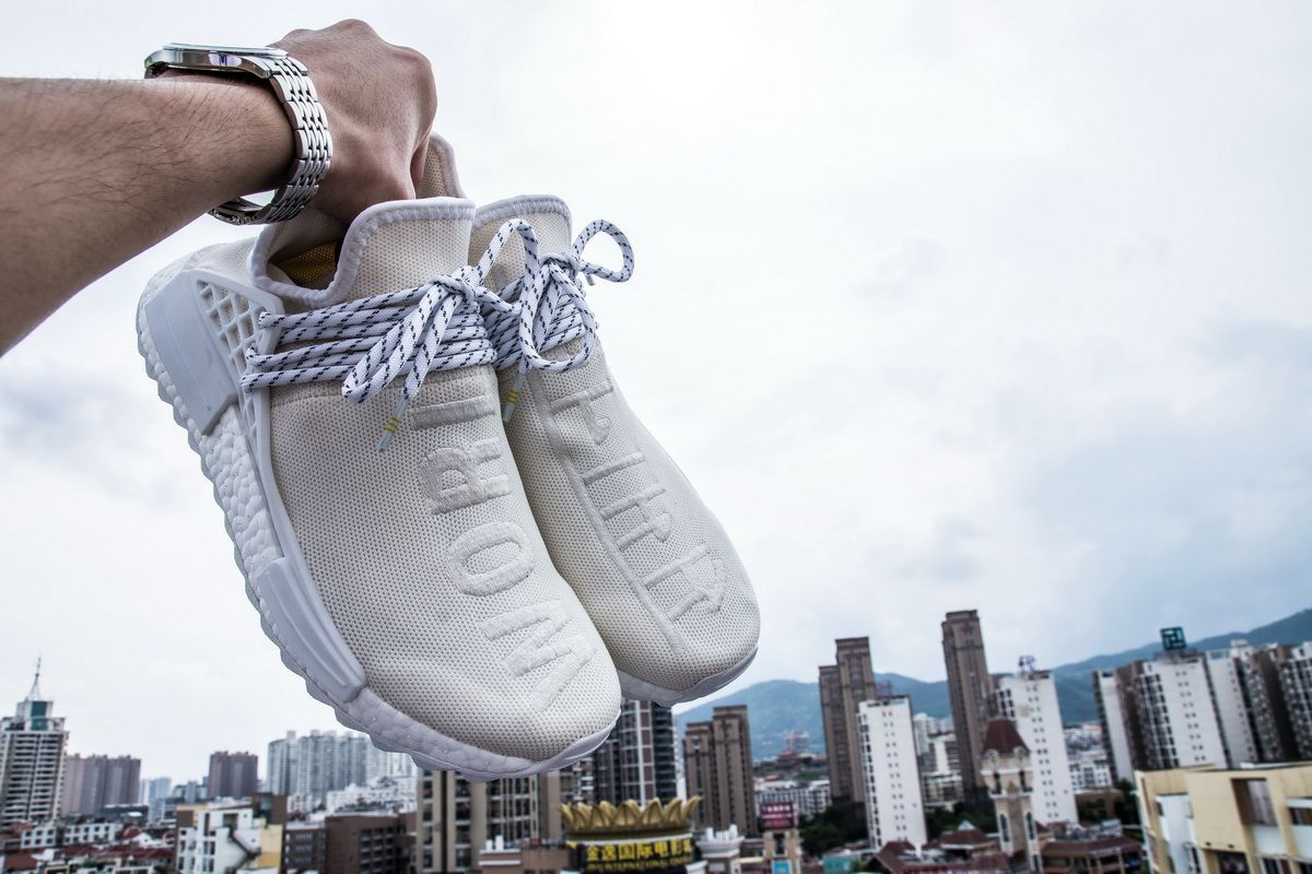 "aad5598b8 Pharrell Williams x Adidas Holi NMD BC ""Cream"" AC7031 for Sale ..."