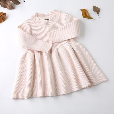 Photo of 2018 Autumn Winter Girls Wool Knitted Sweater Baby Girl dress Girls Dresses For Party And Wedding Baby Girl Clothes | nabitoo.com