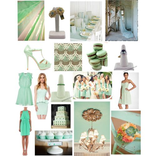 Today we're sharing some wedding mintspiration that we ...