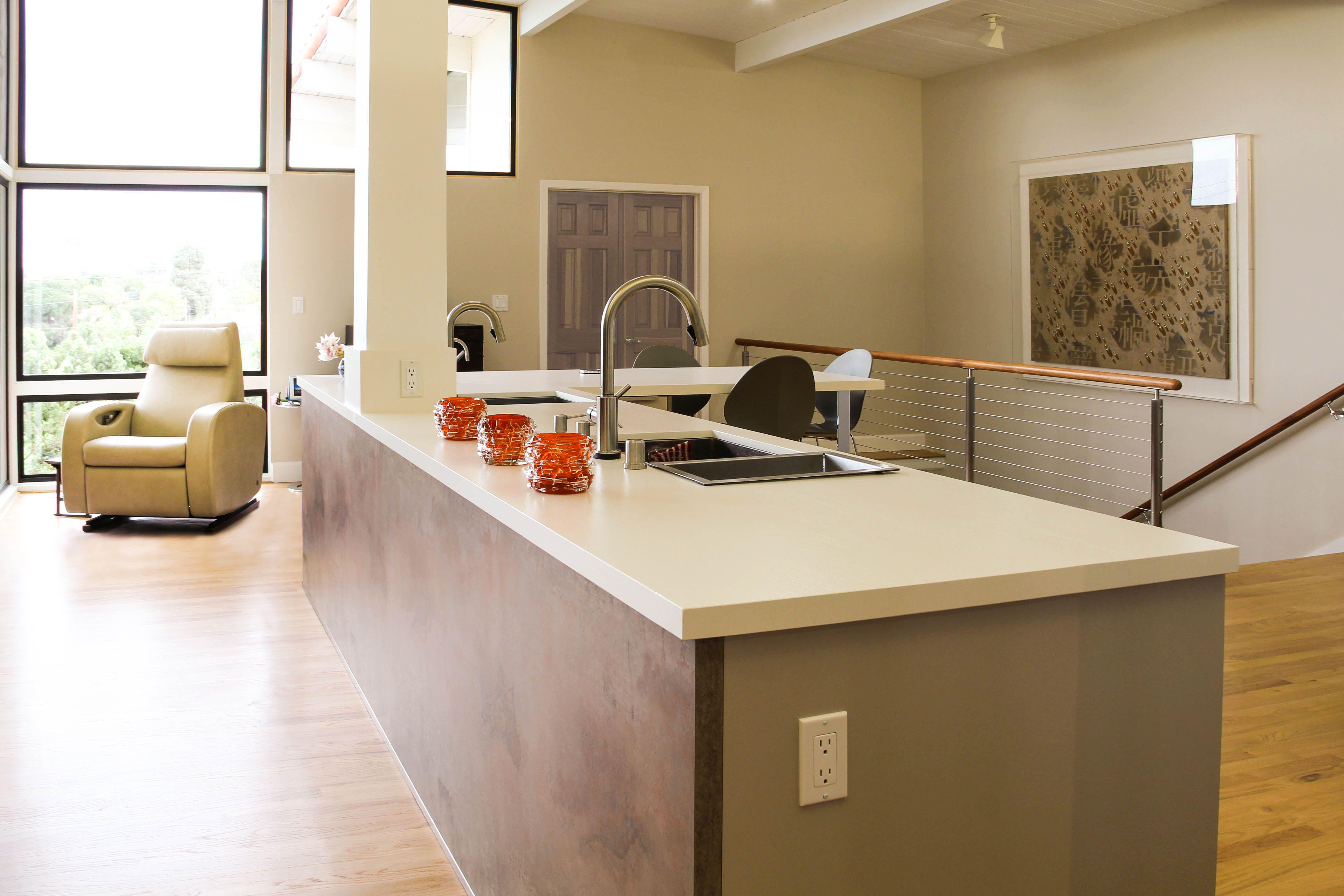 bauformat kitchen cabinet - front 241 | sand beige silky matt