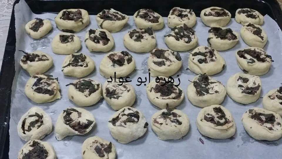 سنابون رول بالزعتر الأخضر والجبنة زاكي Sweet Pastries Best Dishes Mini Cupcakes