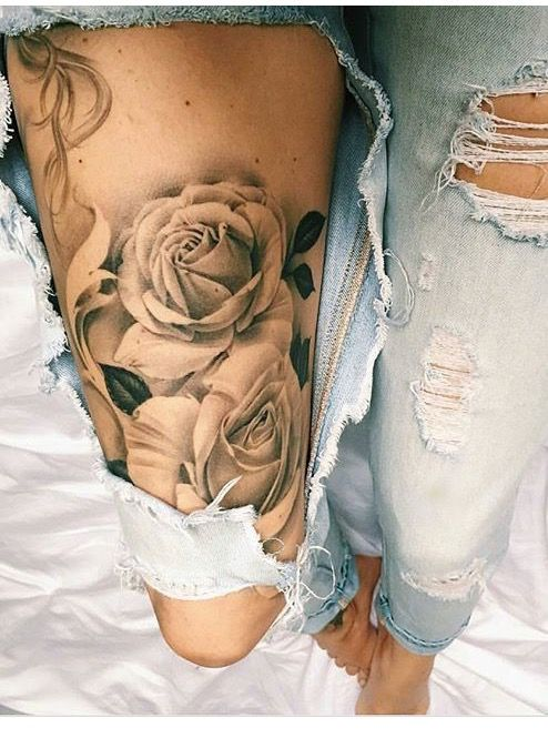roses leg piece beauty tatoos pinterest legs tattoo and tatting. Black Bedroom Furniture Sets. Home Design Ideas