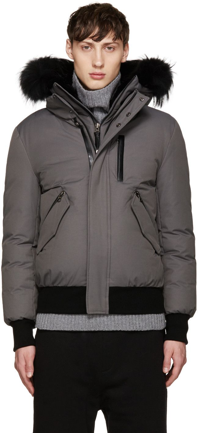 7a34f93cbfe4f MACKAGE Grey Down Dixon-B Jacket. #mackage #cloth #jacket   Mackage ...
