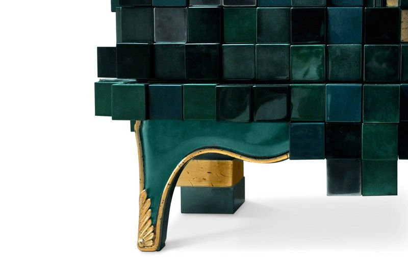 Schön The Amazing Finishes Of Boca Do Lobou0027s Piccadilly Collection | Www. Bocadolobo.com #