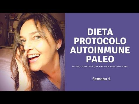 Dieta protocolo autoinmune