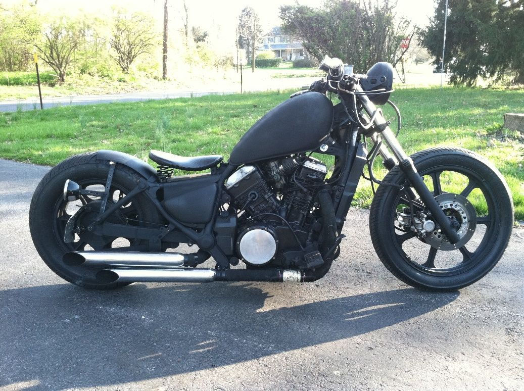 Kawasaki Vulcan 750. This is one way I could see my bike going.