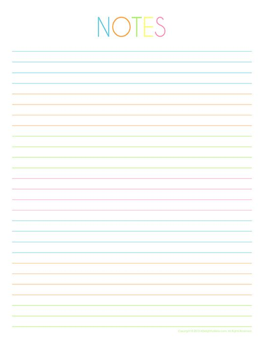 It's just a graphic of Notebook Paper Printable regarding pdf