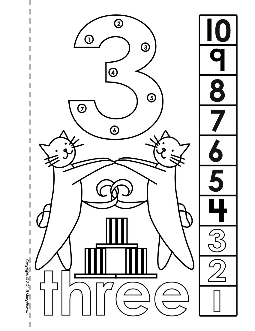 Number Book With Dot To Dot Counting Component 1 10 And 11 20 Also Available Fun Worksheets Book Bundles Coloring Pages