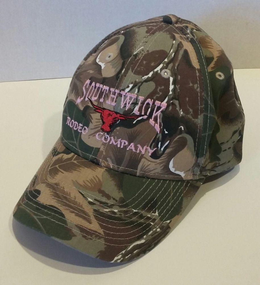 OTTO Camo Camouflage Women s Baseball Hat Cap SOUTHWICK RODEO COMPANY  Adjustable  Otto  BaseballCap 8cfe9643eb06