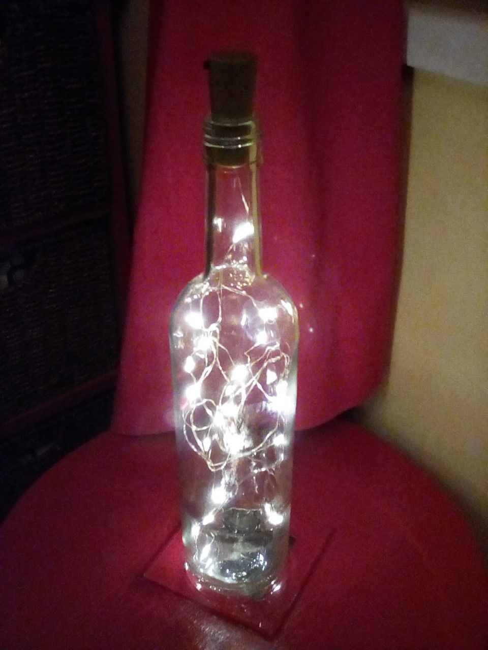 Light Bottle In 2020 Bottle Lights Bottle Bottles Decoration