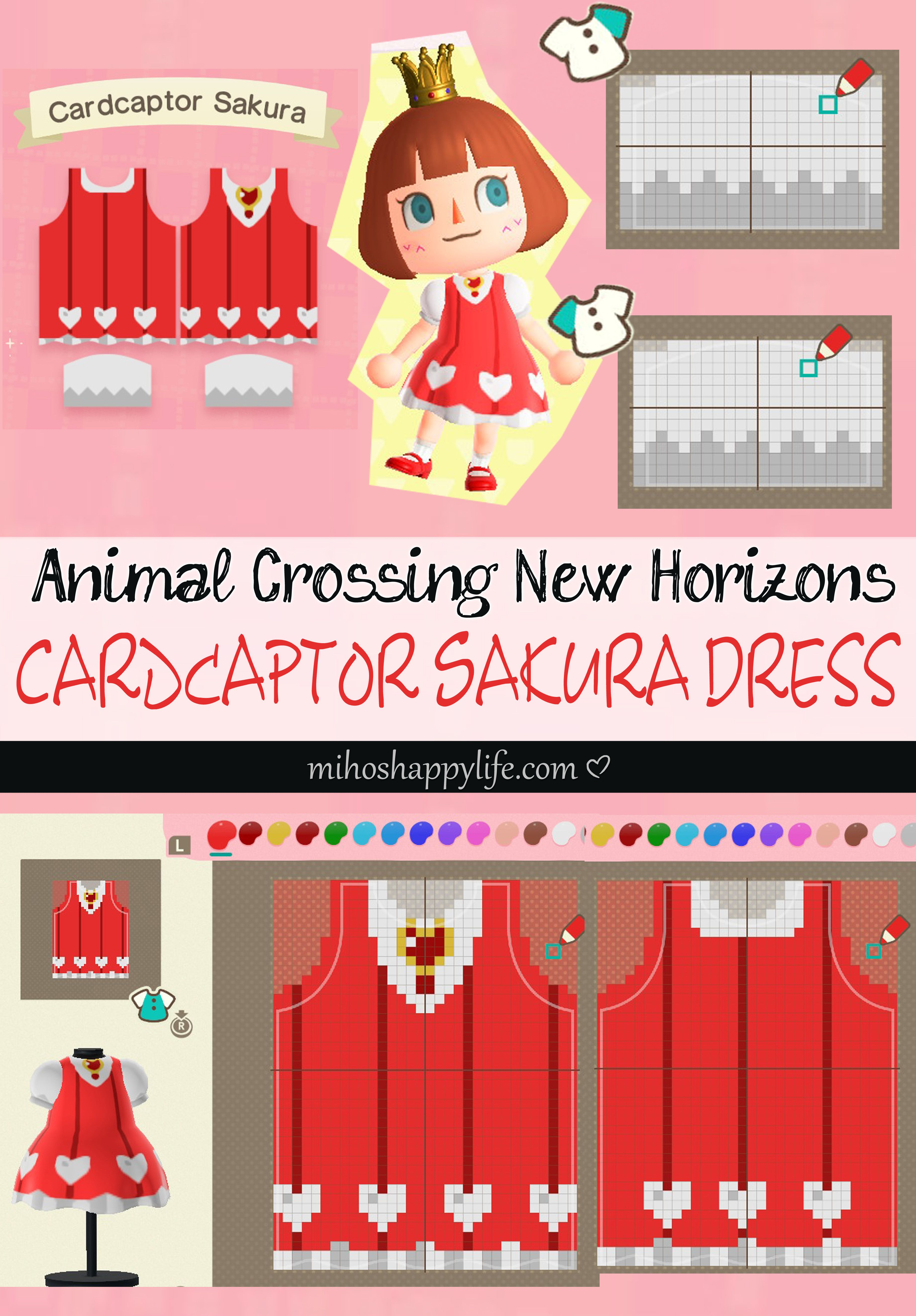 Animal crossing new horizons template design cardcaptor