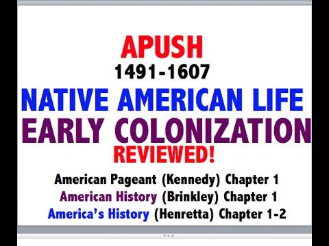 American Pageant Chapter 1 APUSH Review YouTube APUSH