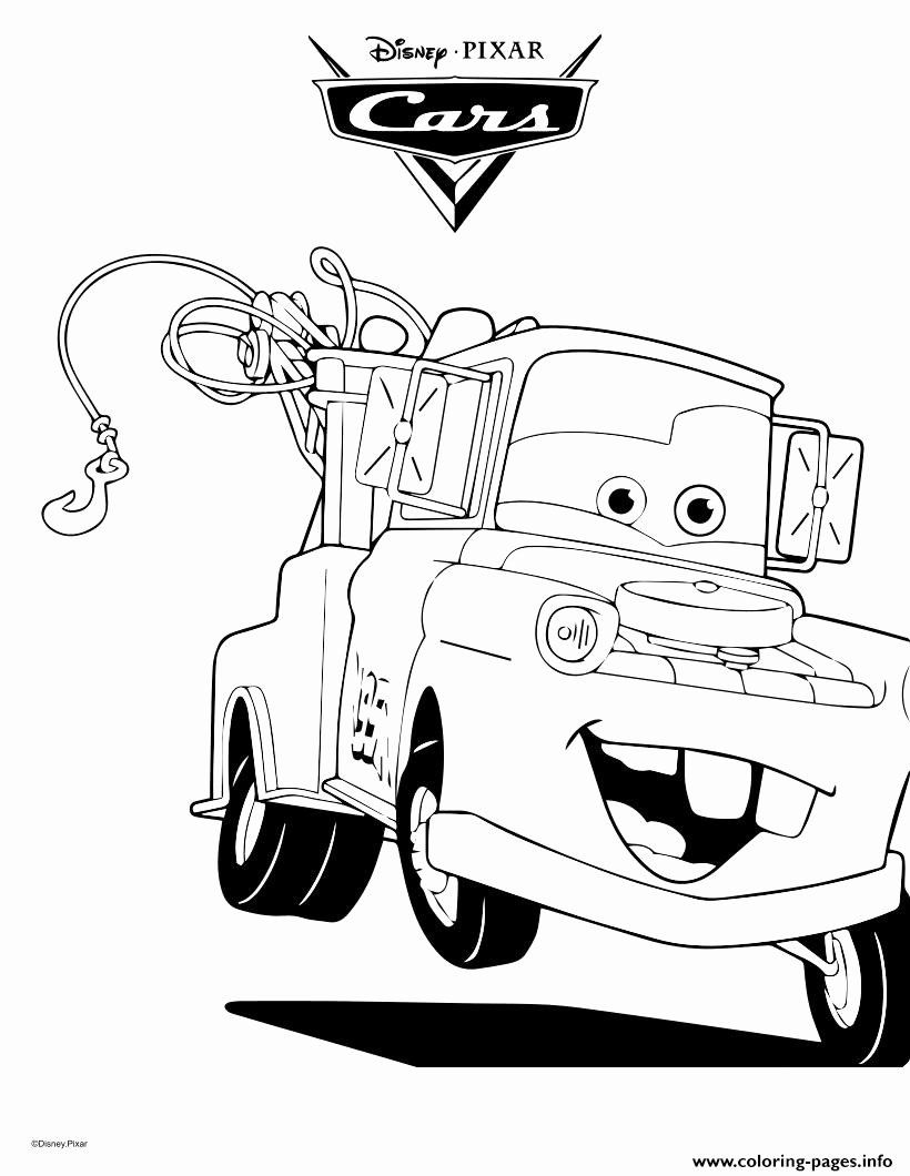 Lightning Mcqueen Printable Coloring Pages Elegant Coloring Pages