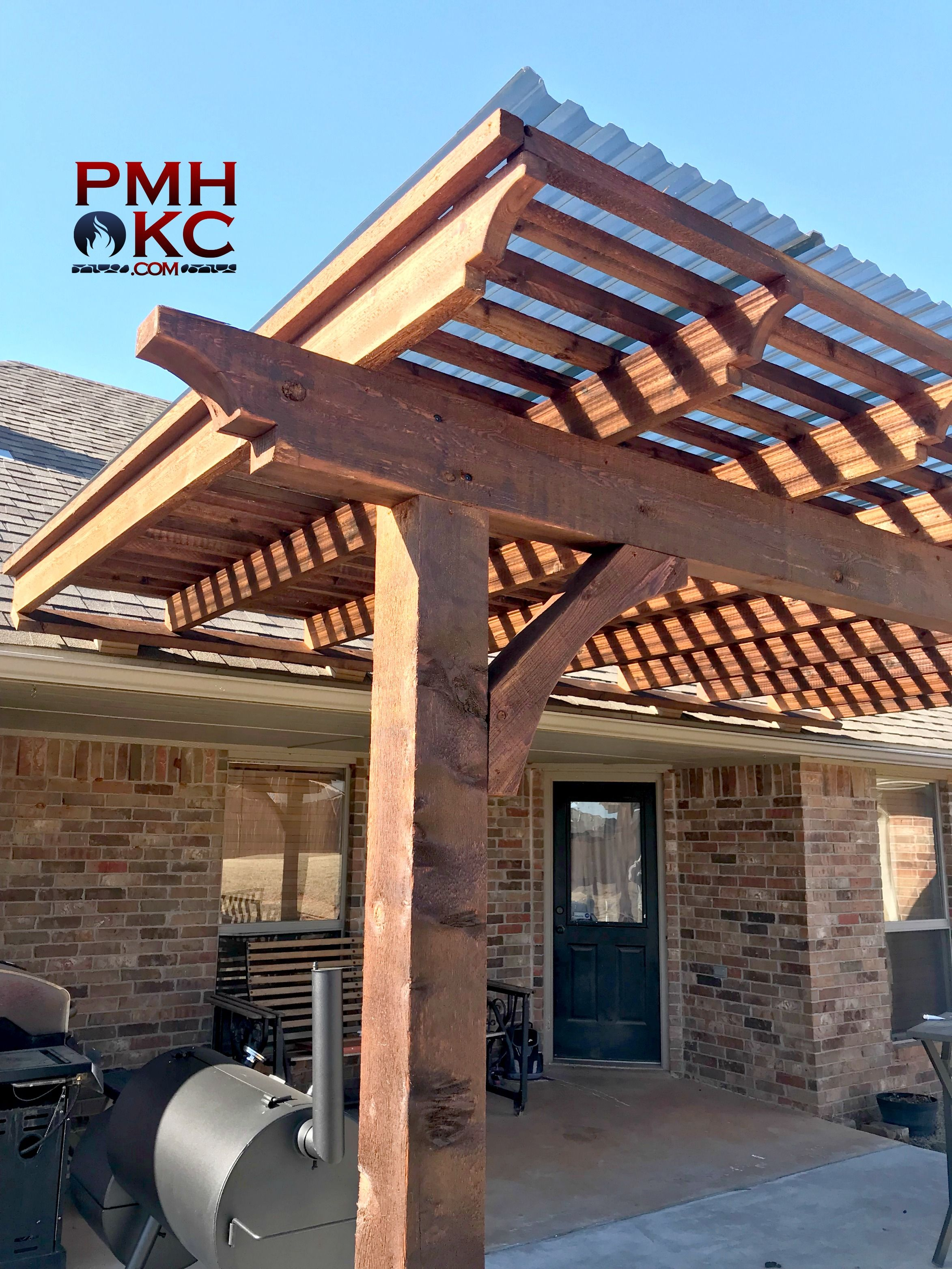 Pin By Pmhokc Com On Custom Pergolas And Pavilions Outdoor Pergola Pergola Outdoor Kitchen