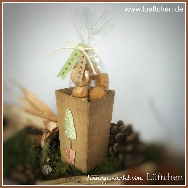 Lüftchen Stempelstudio Bergedorf,Vertical Greetings, Popcorn Box, thinlits, Vertikale Grüße, Popcorn verpackung, Stampin Up!