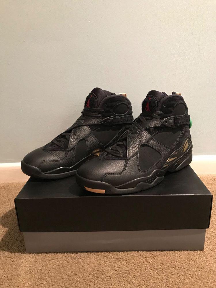 best cheap 7abc6 ef85e Air Jordan 8 OVO Black. Retro VIII. # AA1239 045. Size 9 ...