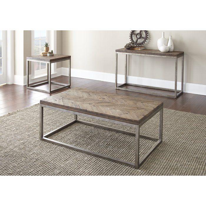 Best Kenton End Table 3 Piece Coffee Table Set Furniture 400 x 300