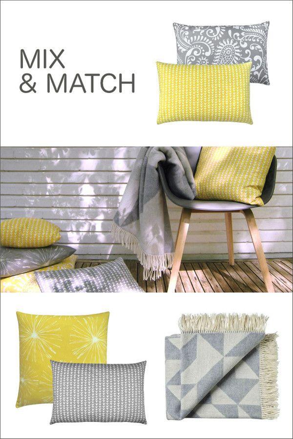 gelbe kissen passen zu jedem einrichtungsstil minimalistisch puristisch skandinavisch. Black Bedroom Furniture Sets. Home Design Ideas